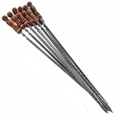 Шампуры с деревянной ручкой (10шт.)