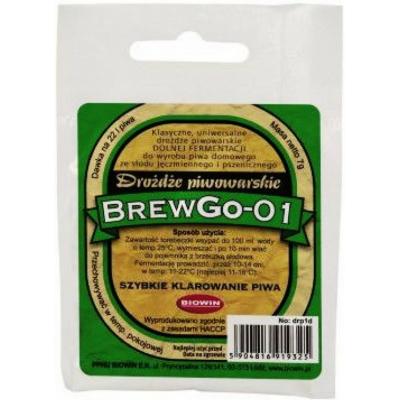 Дрожжи пивные нижнего брожения BREWGO-01 7гр.