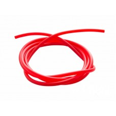 Шланг ПВХ 6 мм красный - 1 м