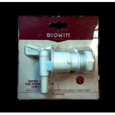 Кран пластиковый удлиненный «BIOWIN» (резьба 3/4)