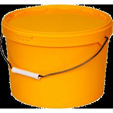 Ведро оранжевое с крышкой (11л.)