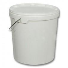 Ведро пластиковое с крышкой  (12, 15, 20, 25, 30л)
