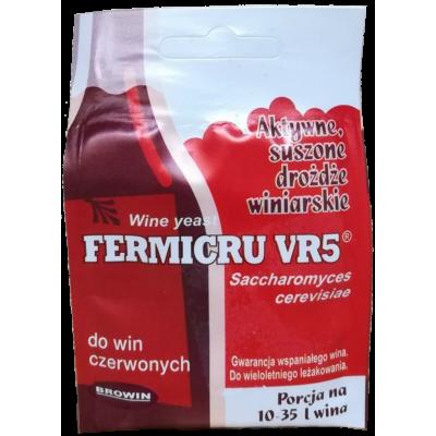 Дрожжи винные FERMICRU VR5 7гр.
