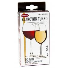 Осветлитель вина Browin «KLAROWIN TURBO» (65гр.)
