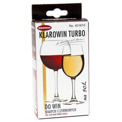 Осветлитель вина и крепких напитков KLAROWIN TURBO 65гр.